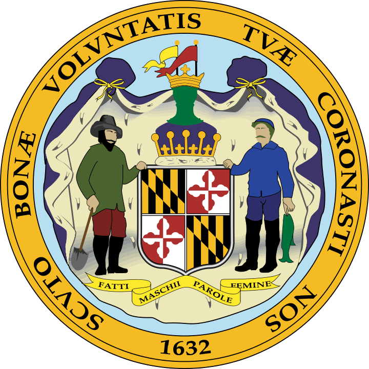 Maryland State Seal Back