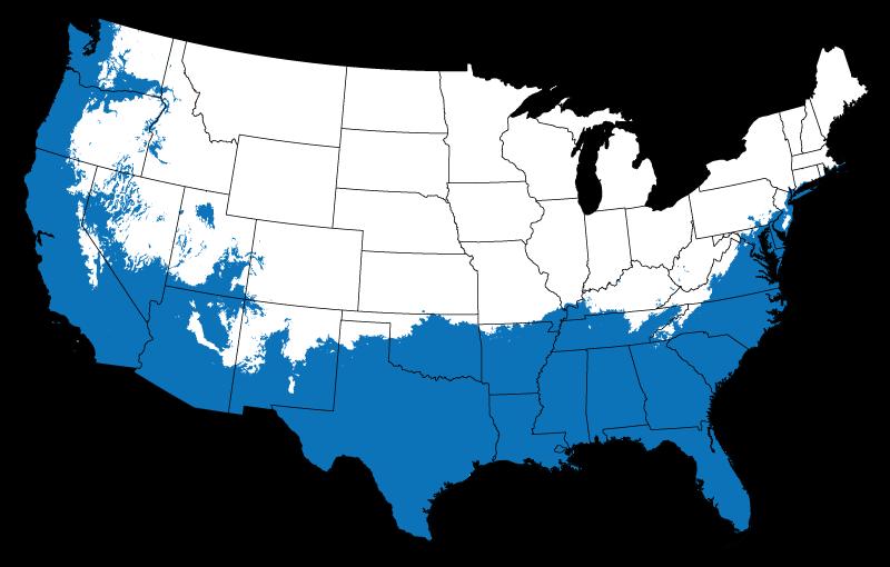 USDA Hardiness Zone 7-10
